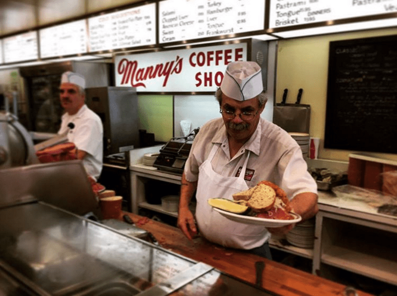 manny's deli chicago