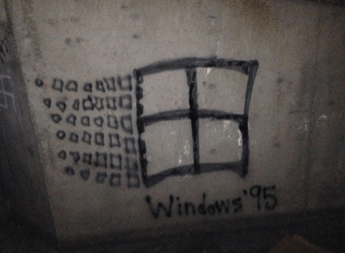 swastika windows 95