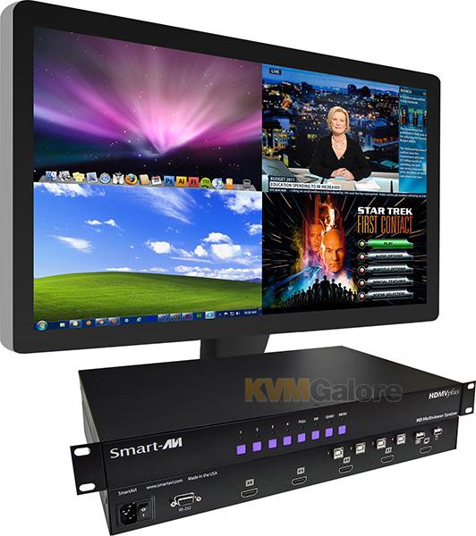 Auto-scan, multi-screen or split-screen? KVMGalore Knowledge Base - multi screen display