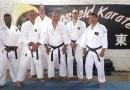 Wêreld Karate-hoof besoek Bosveld