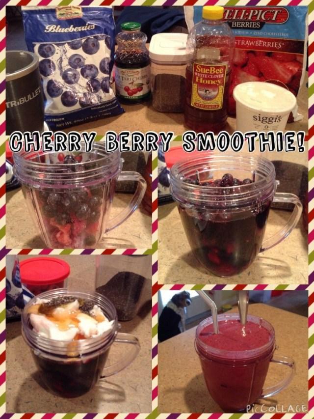 Cherry Berry Smoothie by Veggie Vesta