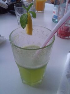 lemon-mint-juice