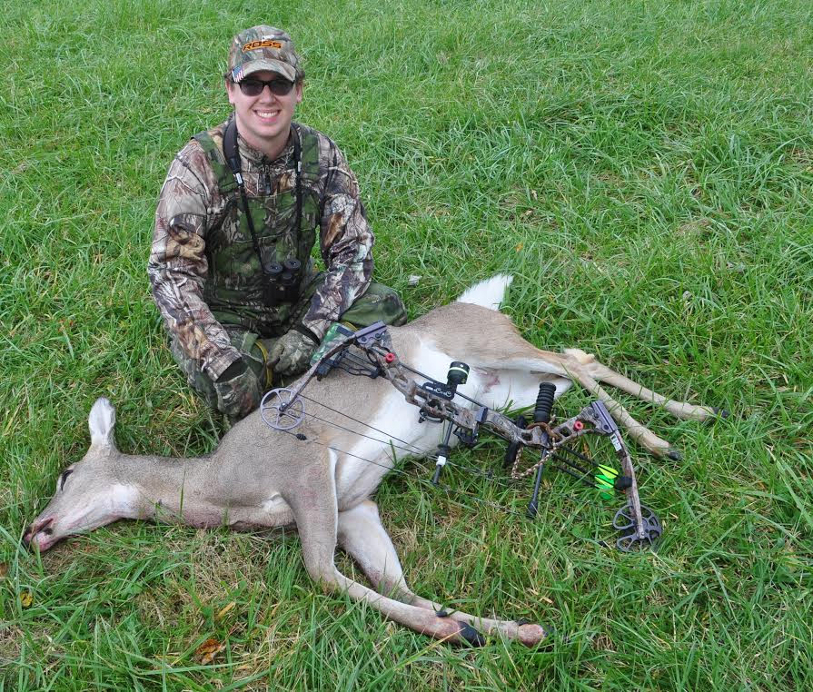 When the season opens and you draw on a deer, your mind and body should be on auto-pilot. Archery is part mental, part muscle memory. Be ready. Early season is a good time to target does (Photo by Art Lander Jr.)
