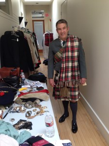 Wardrobe Department - Scottish Costume