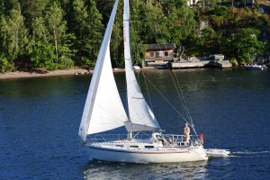 Sail away from Stockholm
