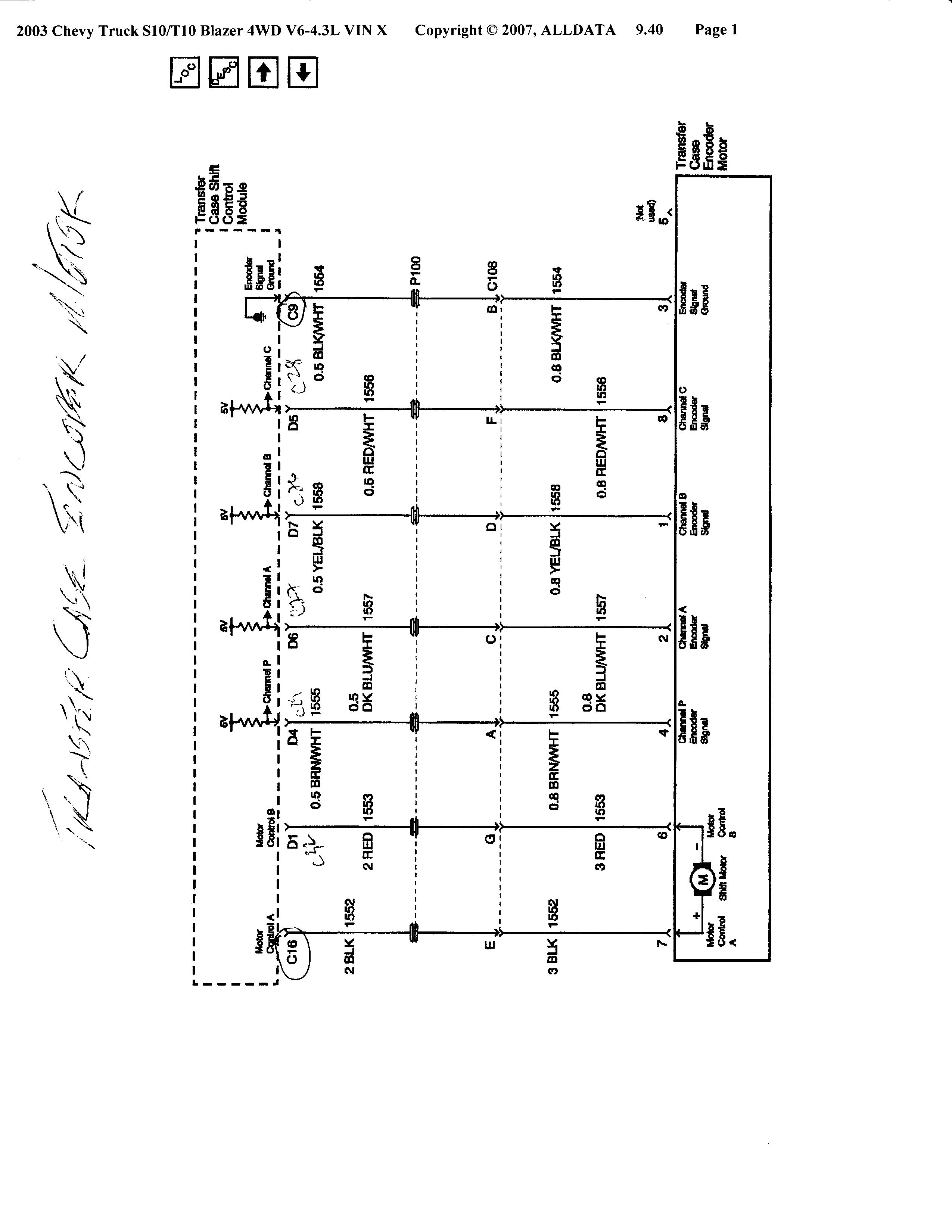 1994 s10 wiring diagram 4x4