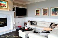 living room benjamin moore stonington gray like revere ...