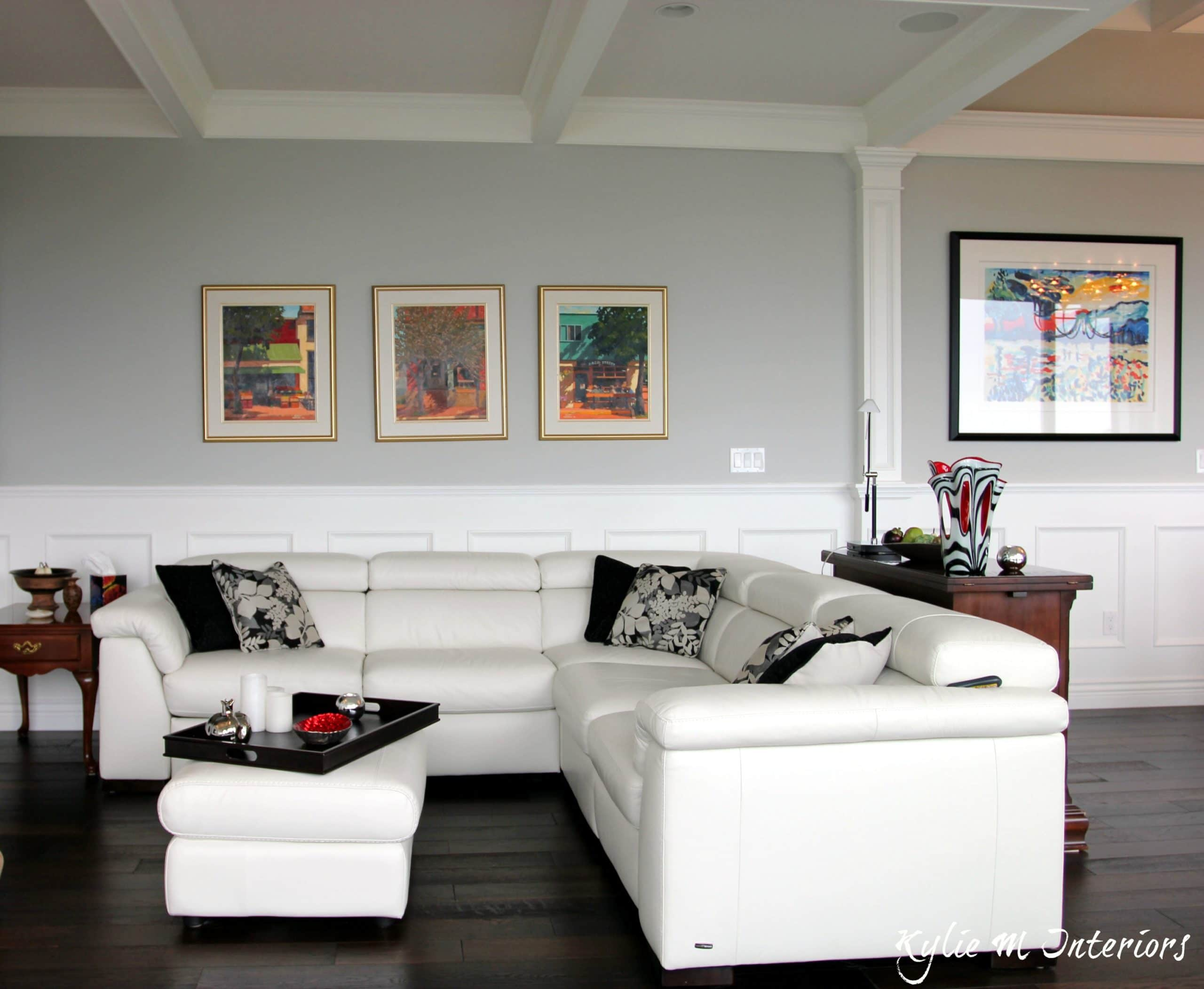 Best benjamin moore gray paint color stonington gray shown Paint colors that go with grey flooring