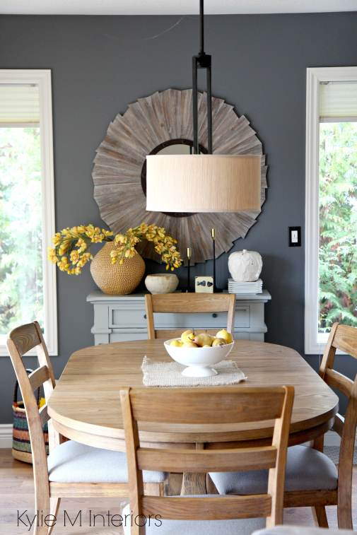 Our modern farmhouse dining room makeover for Country wall art for dining room
