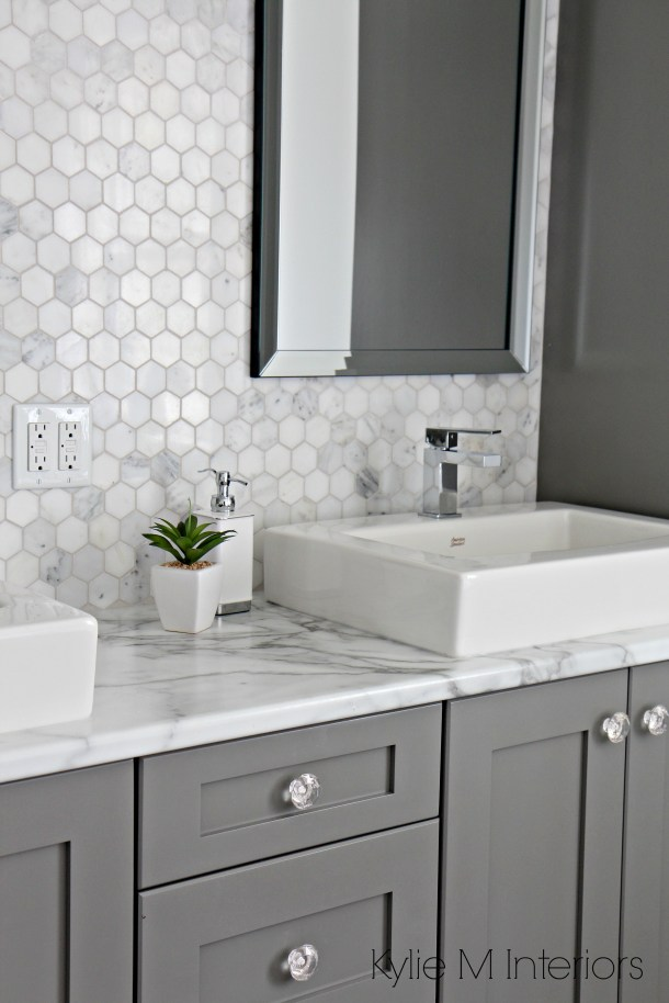 A Marble Inspired Ensuite Bathroom Budget Friendly Too