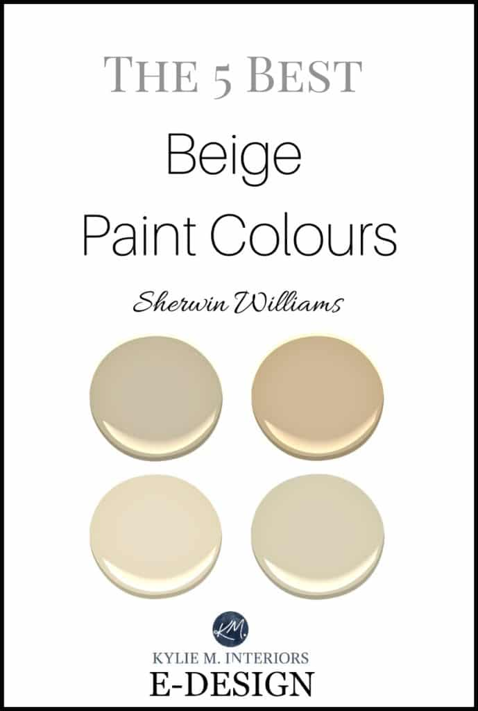 Sherwin Williams  5 of the Best Neutral / Beige Paint Colours