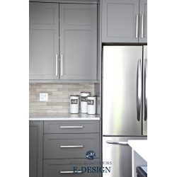 Small Crop Of White And Gray Kitchen