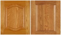 Ideas to update oak kitchen cabinets, cathedral, arch or ...
