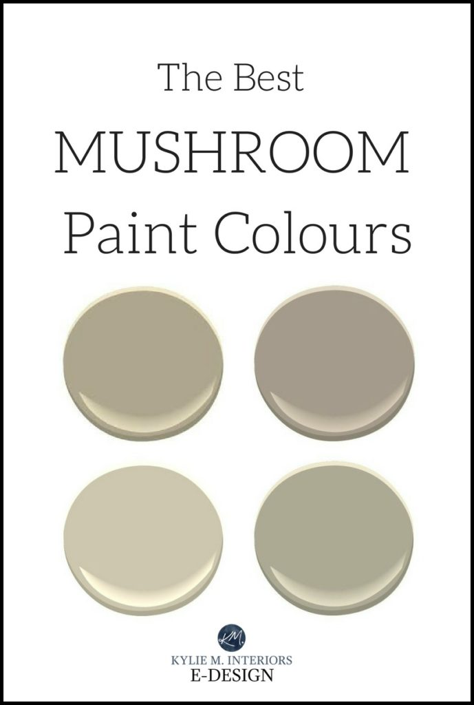 The Best Mushroom Paint Colours \u2013 Benjamin and Sherwin