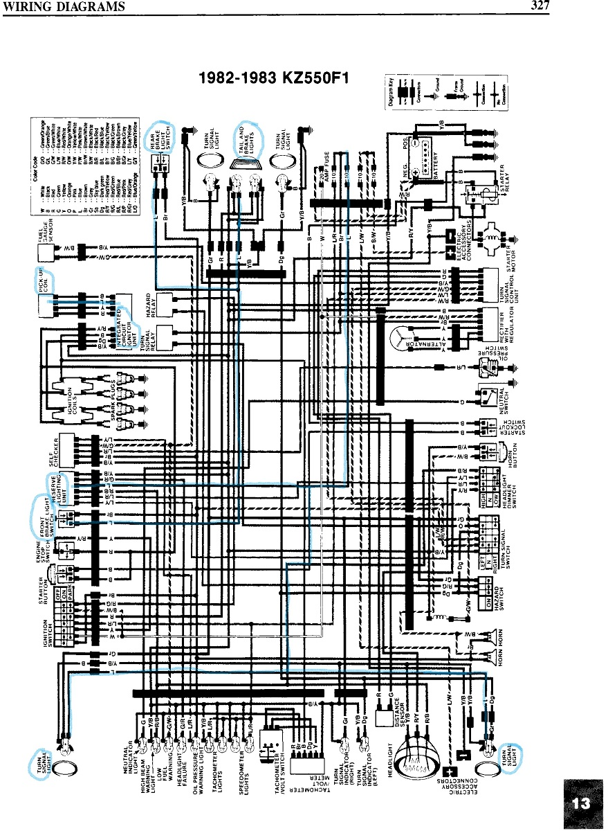 1983 kawasaki 440 ltd wiring diagram