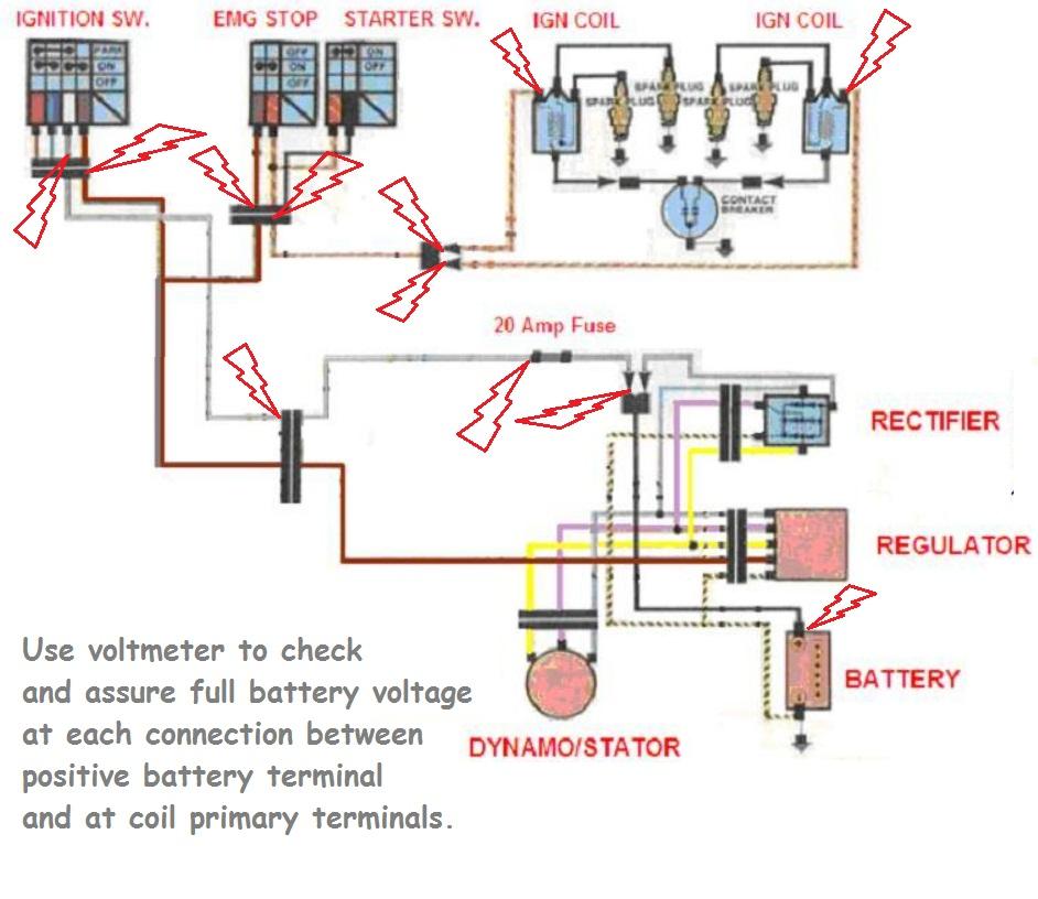 1980 Kawasaki Kz440 Coil Wiring Diagram  39 Wiring Diagram Images
