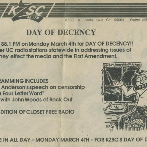 """Day of Decency"""
