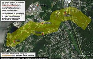 300x191 Location map, in NRC on Spectra AIM fracked methane pipeline past Indian Point nuke, by Stop the Algonquin Pipeline Expansion (SAPE), 15 July 2015