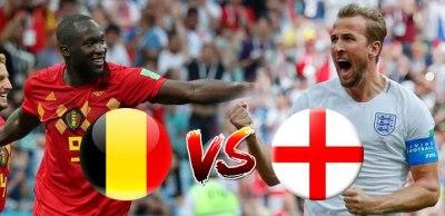 موعد مباراة بلجيكا وإنجلترا في مونديال كأس العالم والقنوات المفتوحة الناقلة
