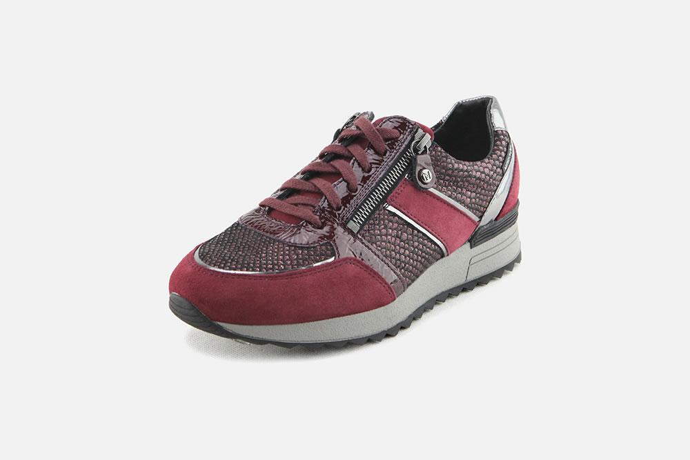 Mephisto - TOSCANA BORDEAUX Sneakers on La Botte Chantilly