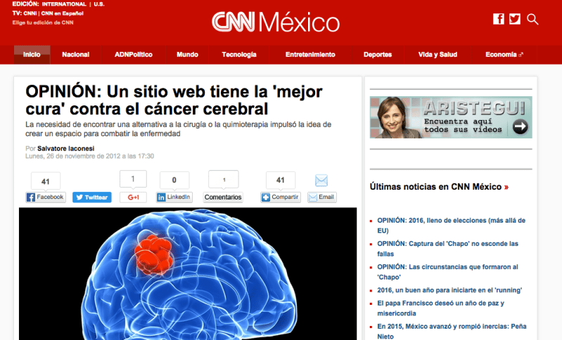 La Cura on CNN Mexico