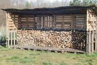 Wood shed using pallets, wooden sheds milton keynes