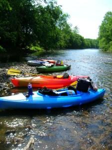 Ballade en canoë-kayak