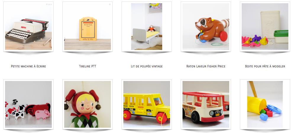 les happy vintage la brocante en ligne pour les kids. Black Bedroom Furniture Sets. Home Design Ideas