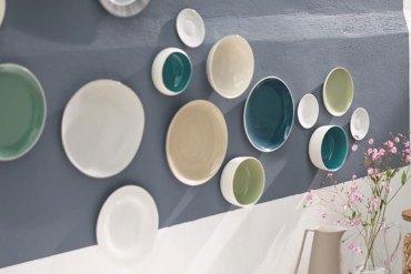 Déco murale : les assiettes vintages font le mur