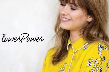 Tendance : Le flower power en all over