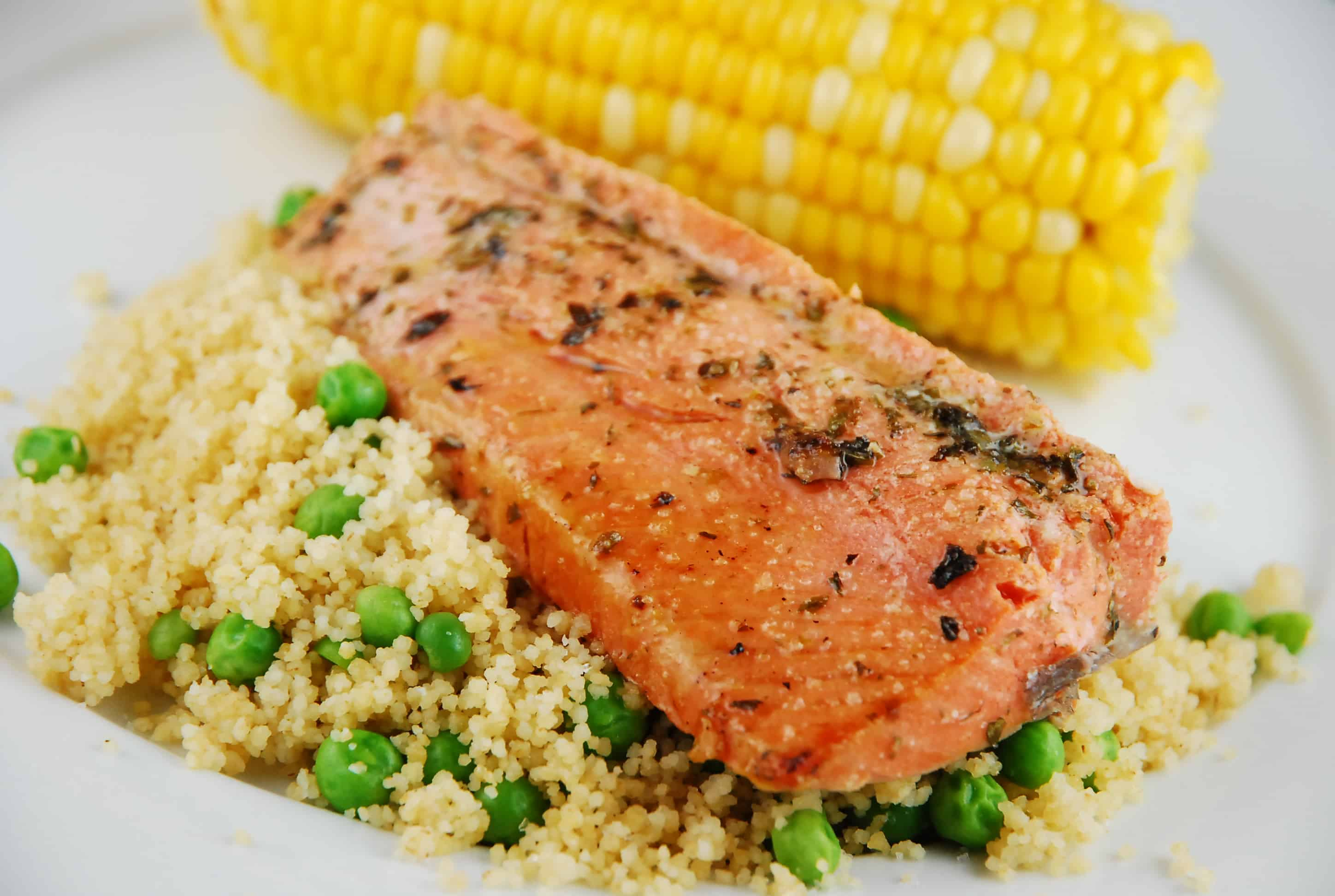 Salmon With Couscous Recipe