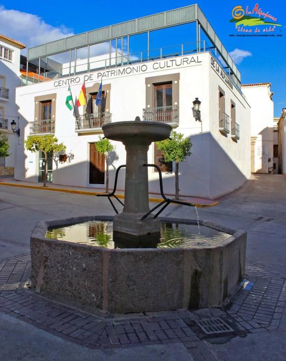 Ugíjar - Fuente Los Caños y Centro de Patrimonio Cultural de La Alpujarra - Autor Antonio Callejón