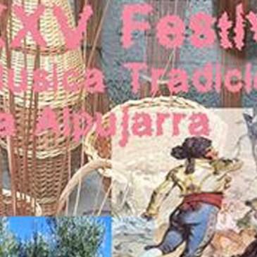 Concurso cartel del XXXV Festival de Música Tradicional de La Alpujarra 2016