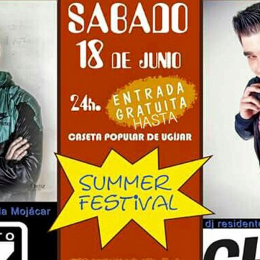 Ugíjar – Summer Festival