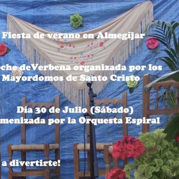 Almegíjar – Fiesta de verano 2016