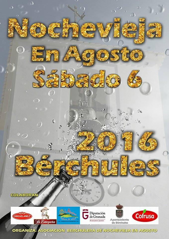 Bérchules – Nochevieja en agosto – XXII aniversario – 2016