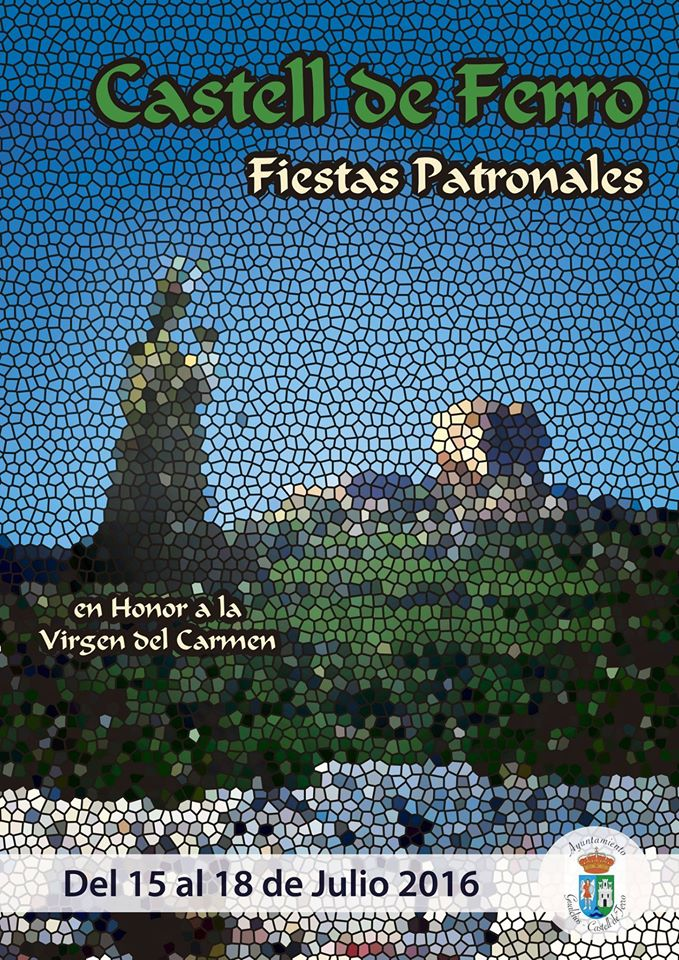 Castell de Ferro - Fiestas Patronales de la Virgen del Carmen 2016