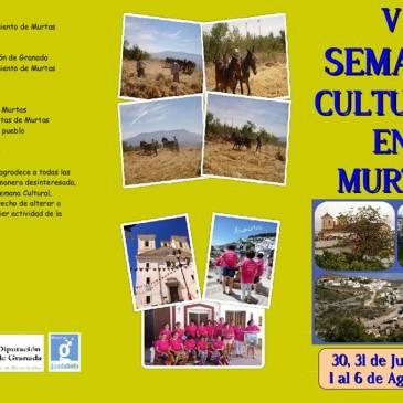 Murtas – V Semana Cultural en Murtas 2016