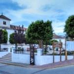 Ugíjar - Plaza de los Mártires de La Alpujarra - Más conocida como Placeta de Las Flores - Autor José A.Vela