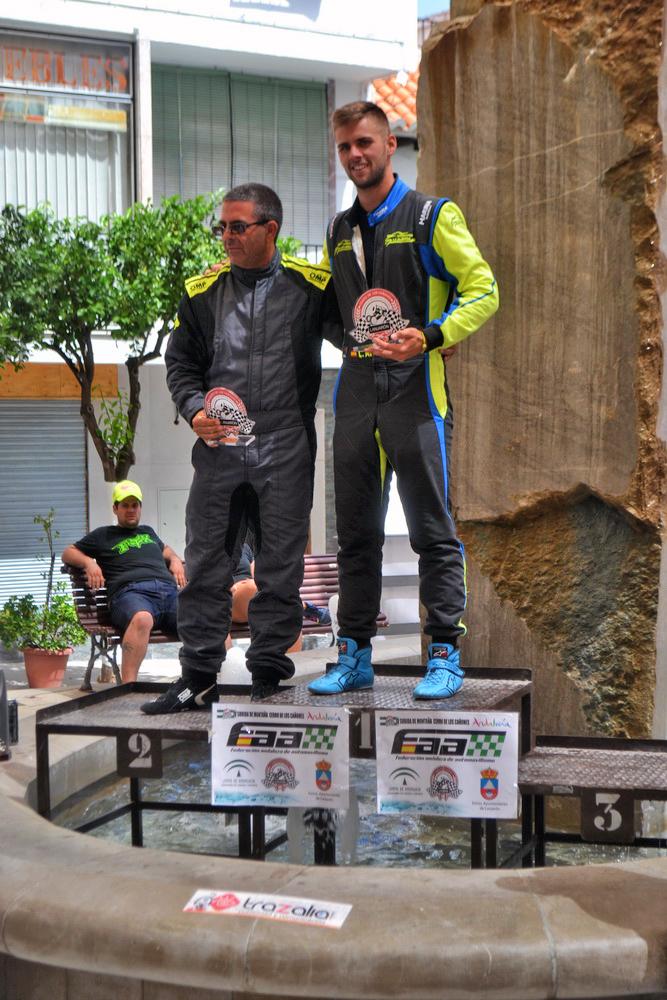 Lolo Aviles podio monoplazas IV Subida al Cerro de los Cañones