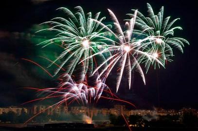 San Fermín – Pamplona cierra el concurso de fuegos artificiales con los alpujarreños