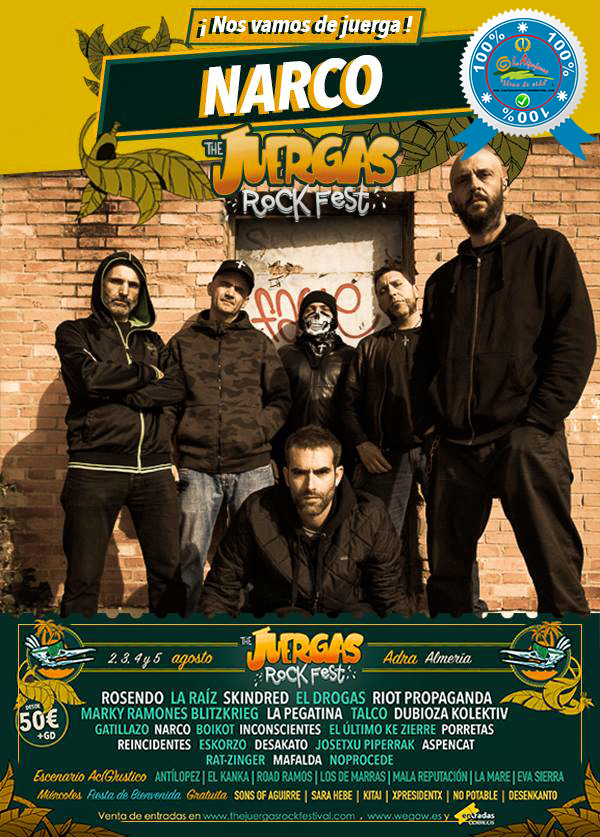 The Juergas Rock Festival - Adra - La Alpujarra - Almería 2017 - Grupo 11
