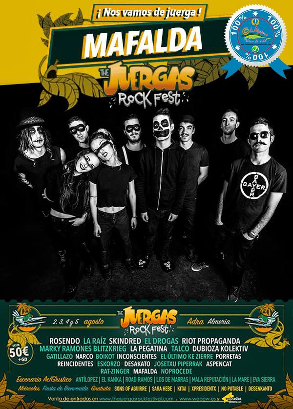 The Juergas Rock Festival - Adra - La Alpujarra - Almería 2017 - Grupo 22