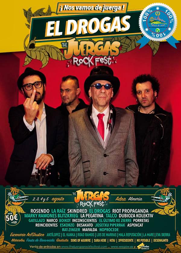 The Juergas Rock Festival - Adra - La Alpujarra - Almería 2017 - Grupo 4