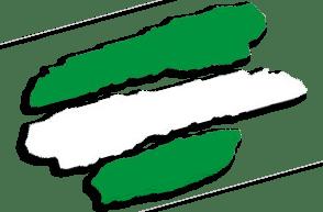 Andalucía - Verde, blanco y verde