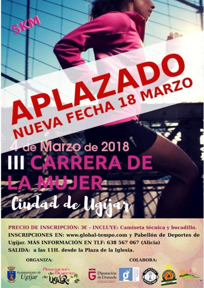 III Carrera de la Mujer Ciudad de Ugíjar 2018 - La Alpujarra