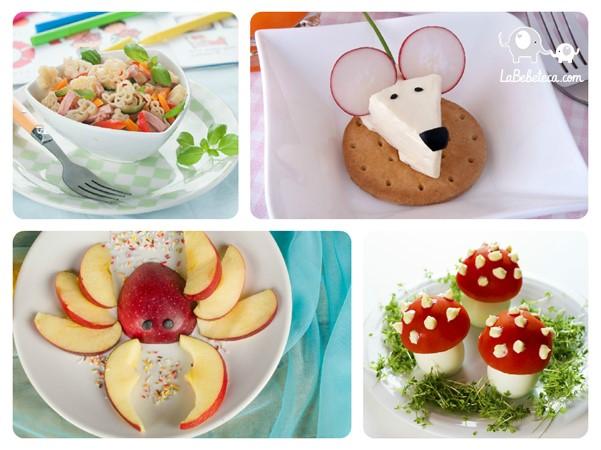 Presentaciones nutritivas y divertidas la bebeteca for Platillos para ninos