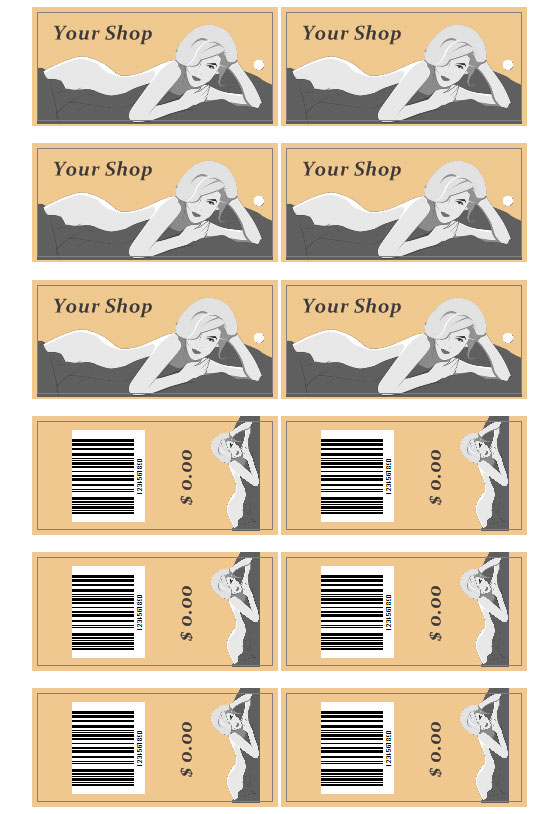 Clothing Tags Download Clothes Tags Templates Labeljoy