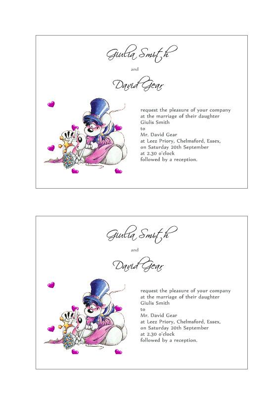 Etiquetas de invitación a Bodas gratis Plantillas de Labeljoy - invitaciones de boda gratis