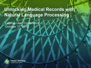 Unlocking Medical Records with Natural Language Processing